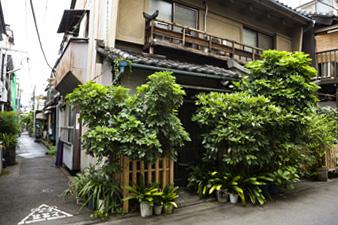 東京の木造建築